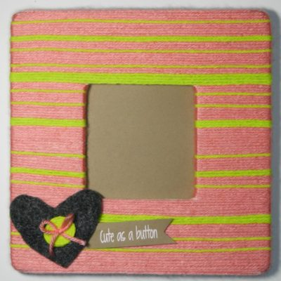 Yarn Picture Frame