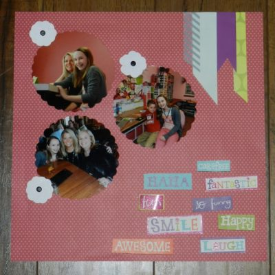 Fiskar's Fuse Review and Scrapbook Page