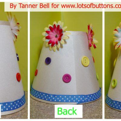 DIY | Button Lamp Shade