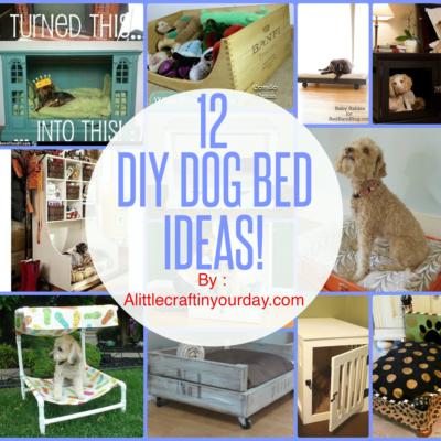 12 DIY Dog Beds