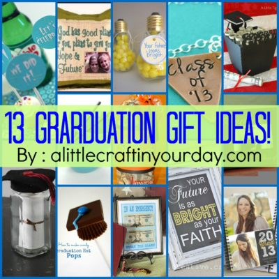 13 Graduation ideas