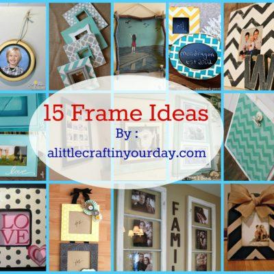 14 Photo Frame Ideas