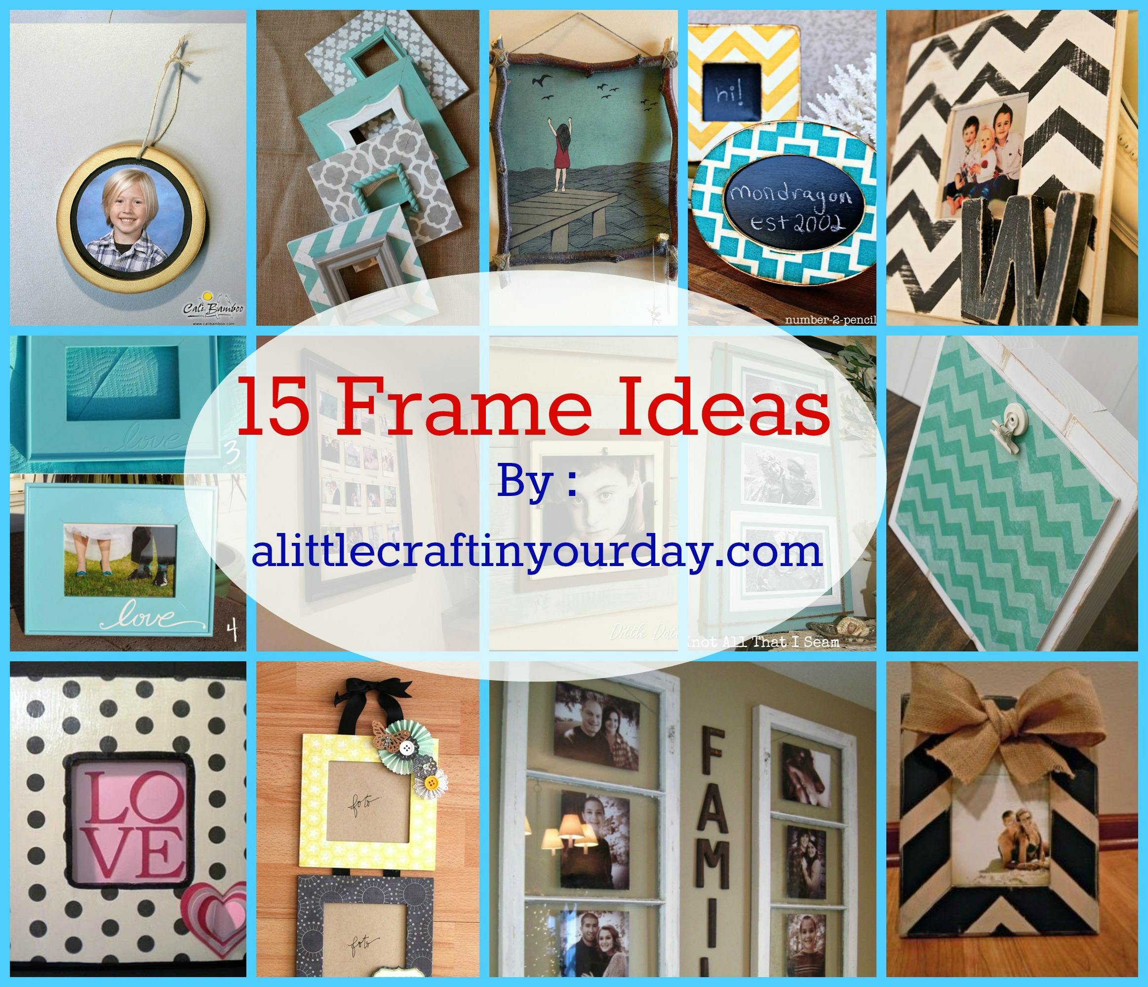 Picture Frame Decorating Ideas.14 Photo Frame Ideas A Little Craft In Your Day