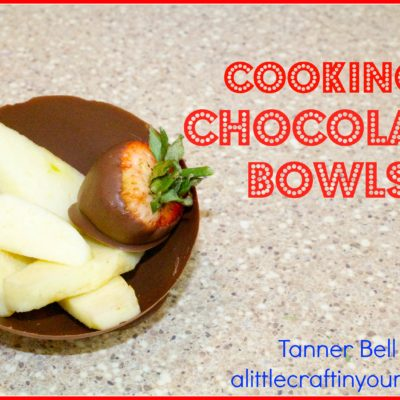 Chocolate Bowls with Balloons