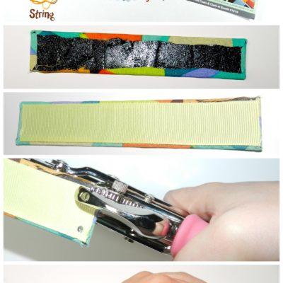 Fabric Cuff Bracelet: TEEN CRAFT