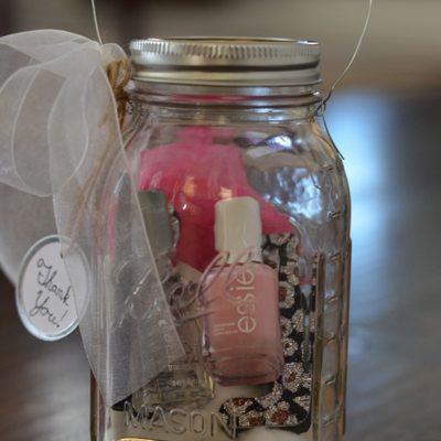 Mason Jar Manicure Set