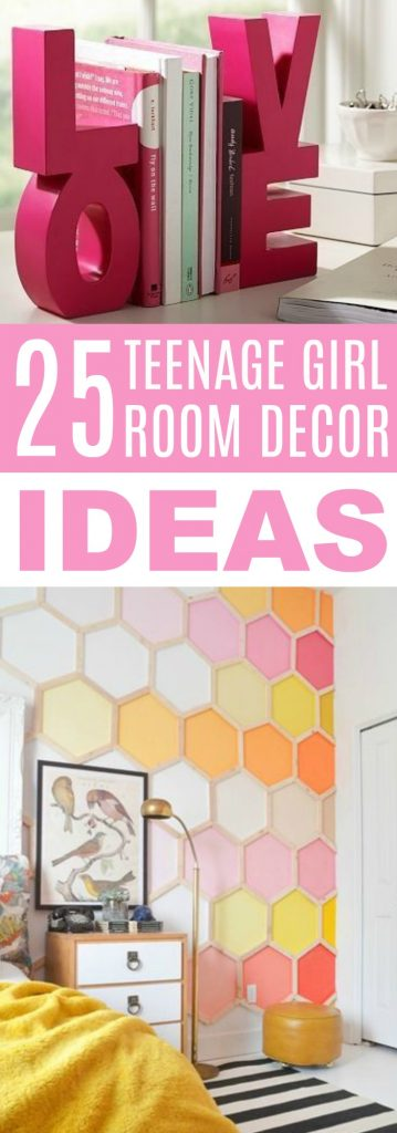 25 teenage girl room decor ideas a little craft in your day - Cool things to buy for your room ...