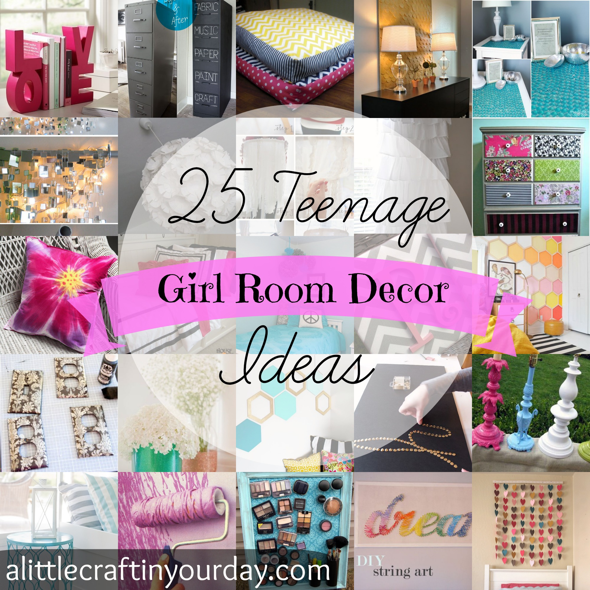 Phenomenal 25 Teenage Girl Room Decor Ideas A Little Craft In Your Day Home Interior And Landscaping Ologienasavecom