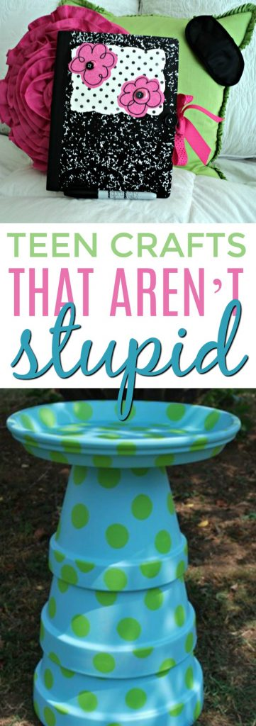 Teen Crafts that AREN'T stupid - A Little Craft In Your Day