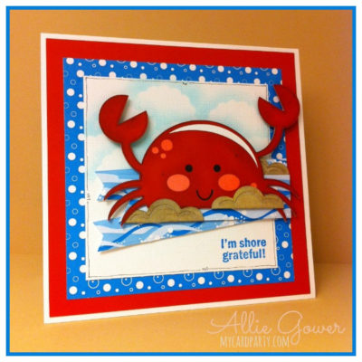 One Cute Crab, Two ideas!