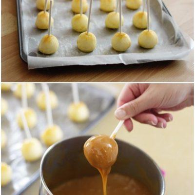 DIY Mini Caramel Apples thumbnail