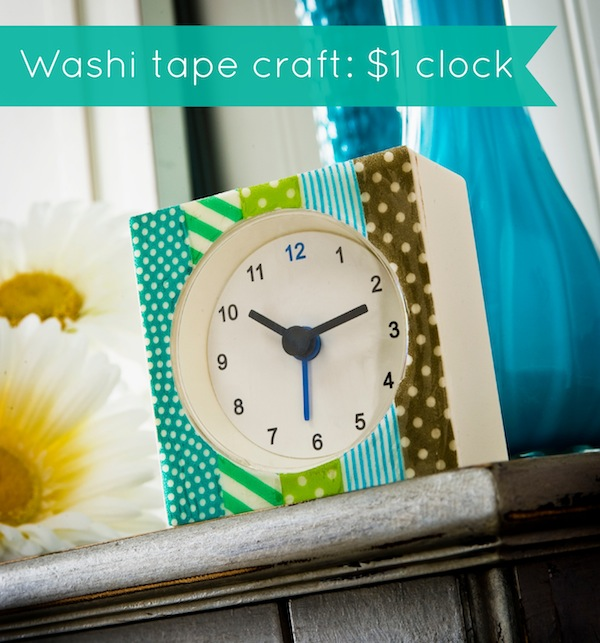 Washi-tape-craft-dollar-clock