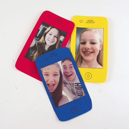 Cell Phone Selfie Fathers Day Card 420