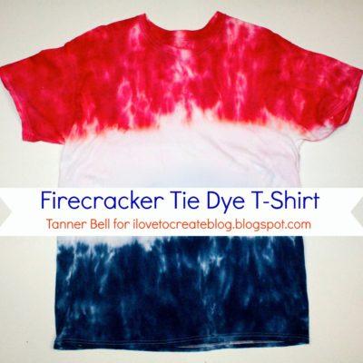 Firecracker Tie Dye T-Shirt thumbnail