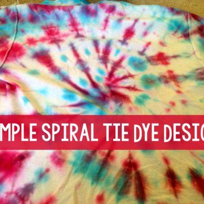 Spiral Tie Dye Design (16 Tie Dye Projects!) thumbnail