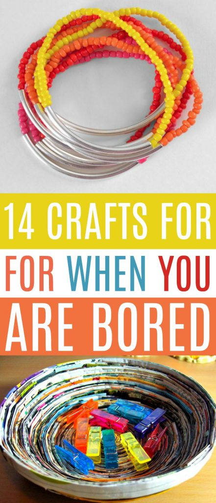 14 Craft For When You Are Bored A Little Craft In Your Day