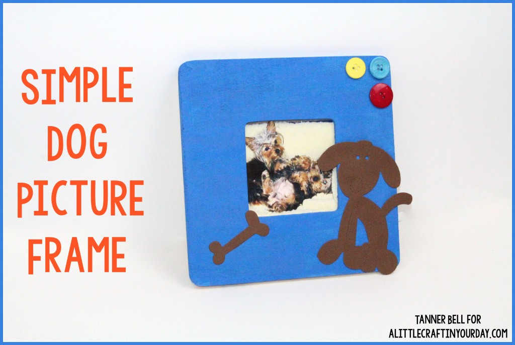 Simple_Dog_Picture_frame
