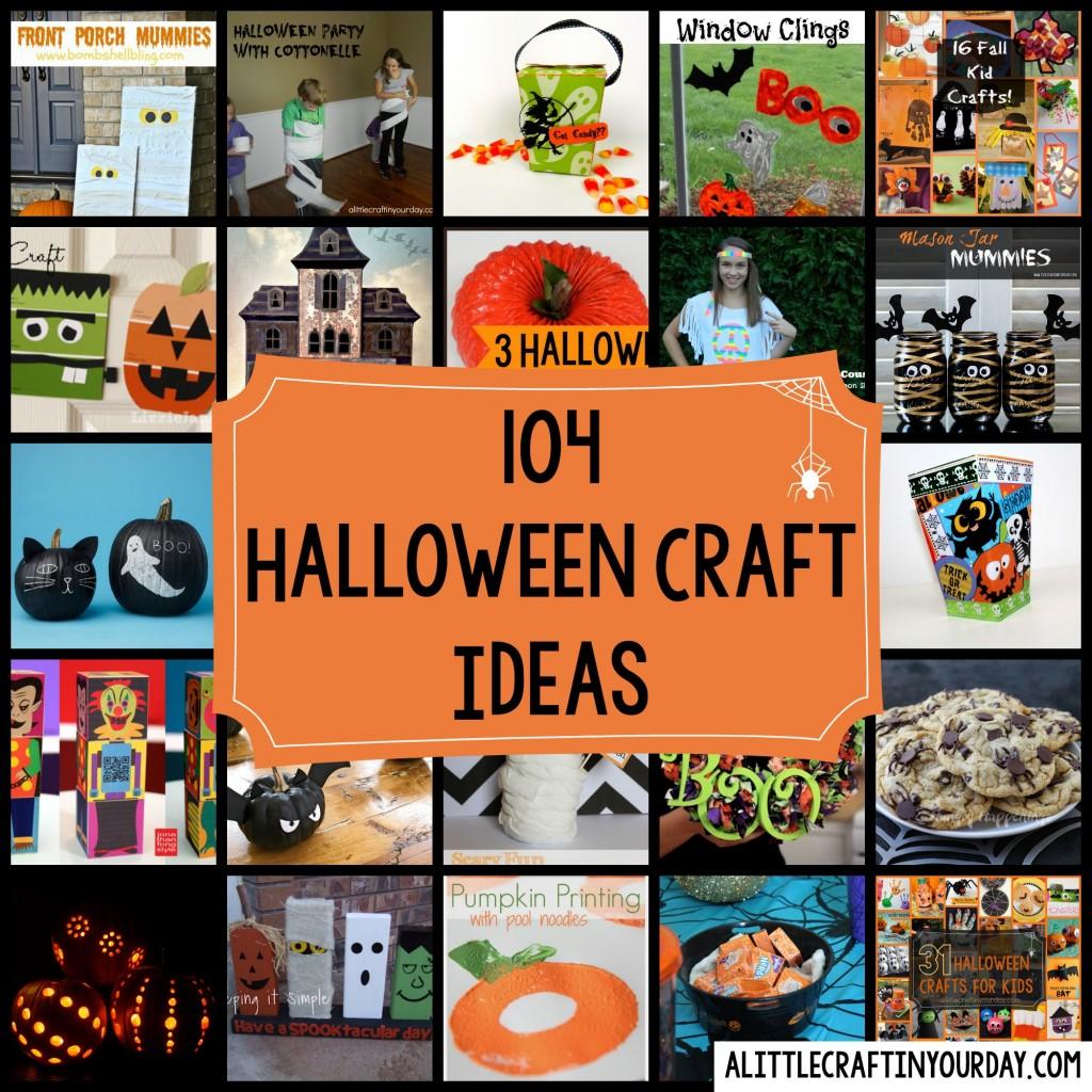 104 Halloween Craft Ideas