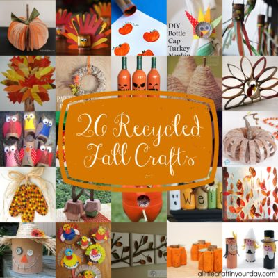 26 Recycled Fall Crafts thumbnail