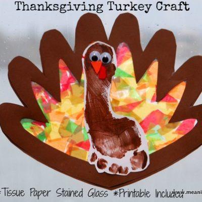 Thanksgiving Footprint Turkey thumbnail