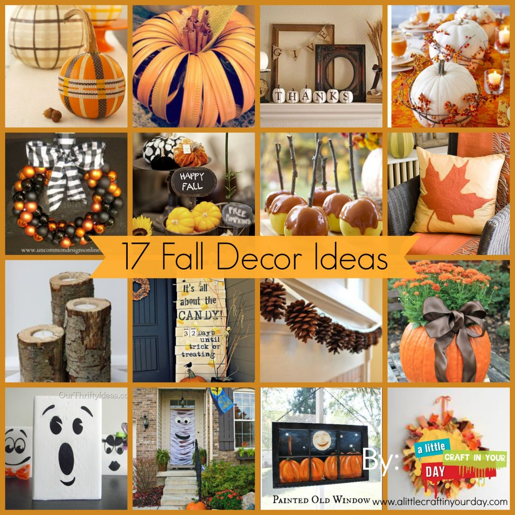 29 Thanksgiving Decor Ideas A Little Craft In Your Day