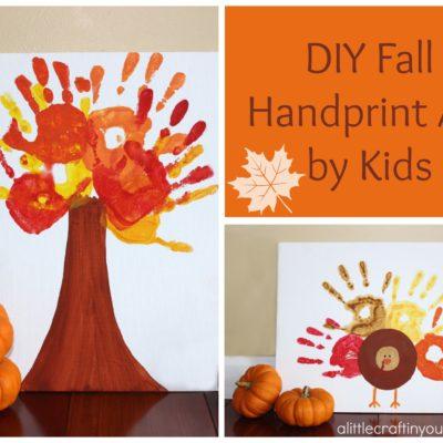Fall Handprint Art thumbnail