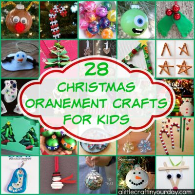 28 Christmas Ornament Crafts For Kids thumbnail