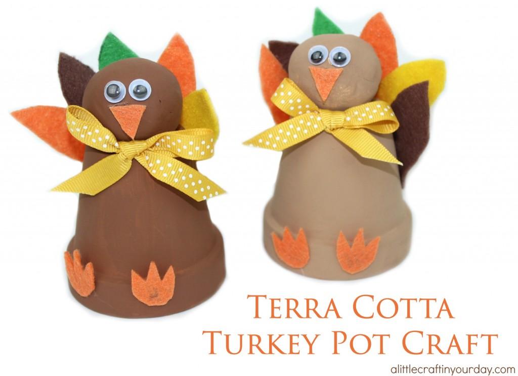 Terra Cotta Turkey Pot Craft