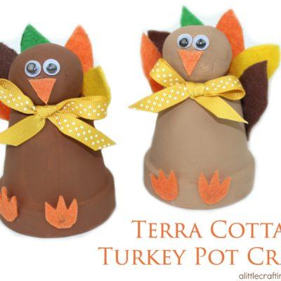 Terra Cotta Turkey Pot Craft thumbnail