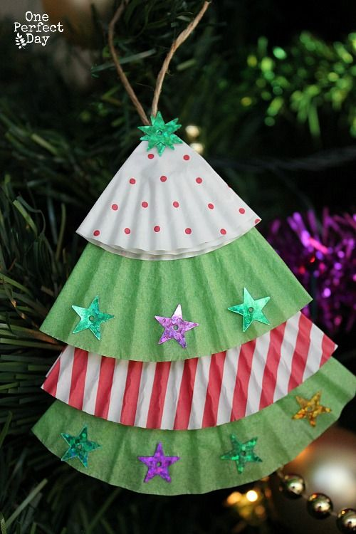 Childrens Christmas Craft Ideas.28 Christmas Ornament Crafts For Kids A Little Craft In