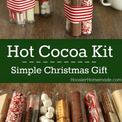 Simple Christmas Gift: Hot Cocoa Kit thumbnail