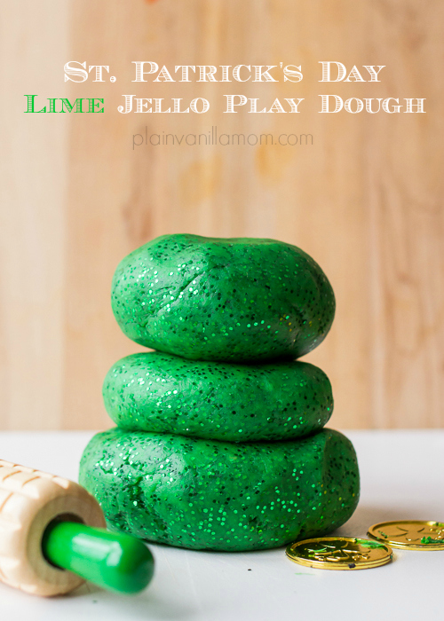 Lime-Jello-Play-Dough