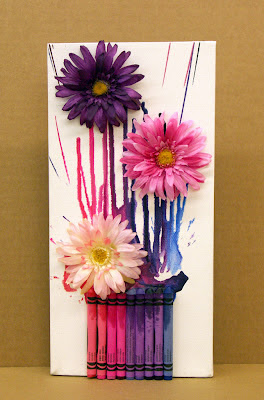 BenFranklin_MeltedCrayon_Bouquet