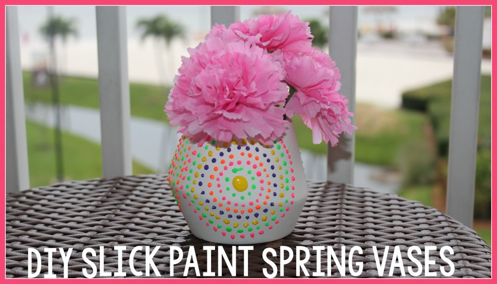 DIY_slick_paint_spring_vases