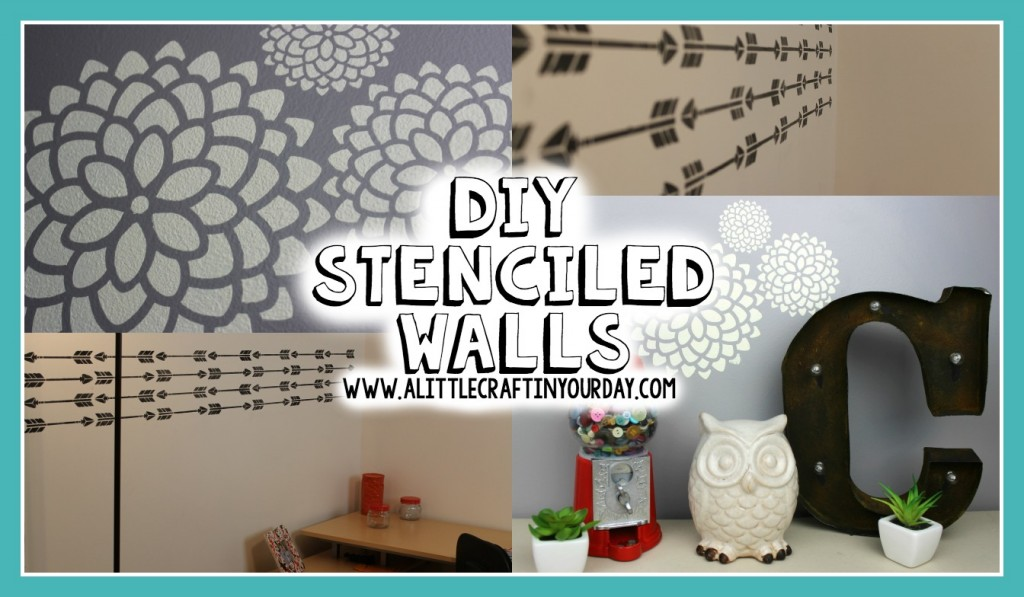DIY_Stenciled_Walls