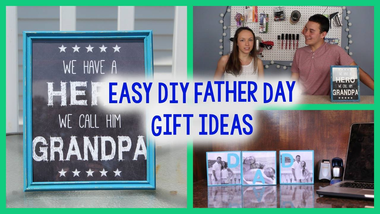 Diy Father S Day Gift Ideas A Little Craft In Your Day