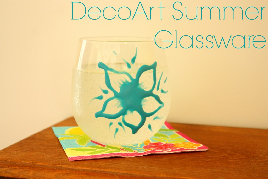 DecoArt Summer Glassware Cover