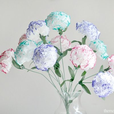 DIY Tissue Flowers thumbnail