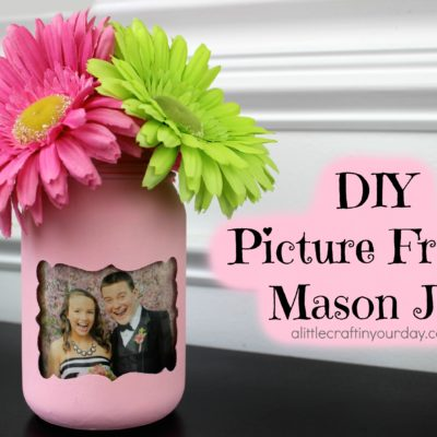 DIY Picture Frame Mason Jar thumbnail