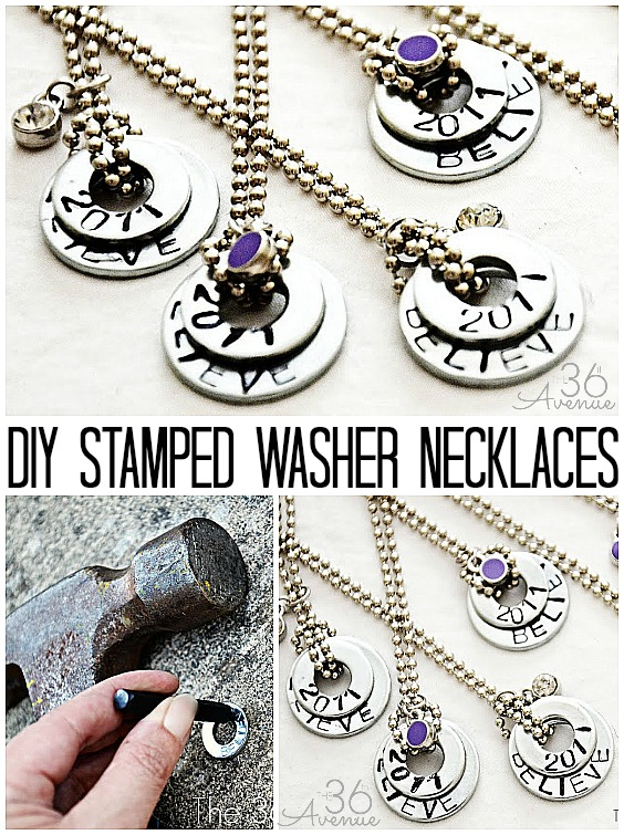 Washer-Necklaces