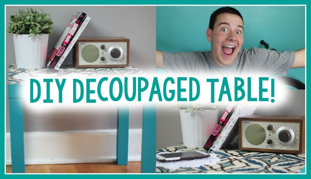 DIY_Decoupaged_table