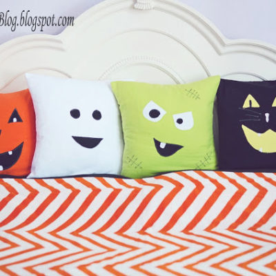 DIY Halloween Pillows thumbnail