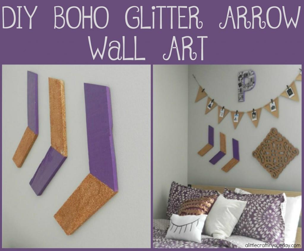 diy_boho_glitter_arrow_wall_art
