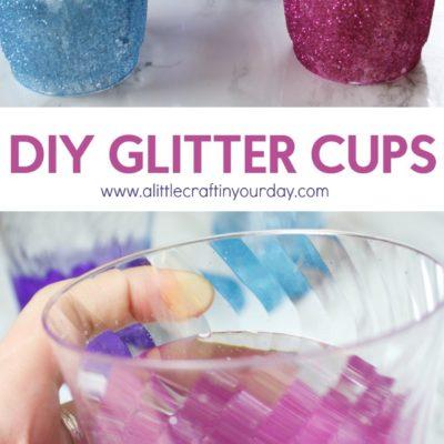 DIY Glitter Cups thumbnail