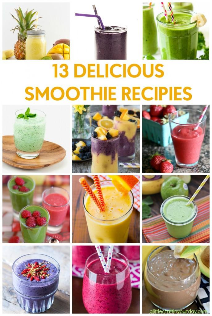 13_Delicious_Smoothie_Recipies