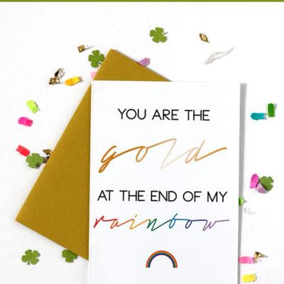 Free Printable St. Patrick's Day Card thumbnail