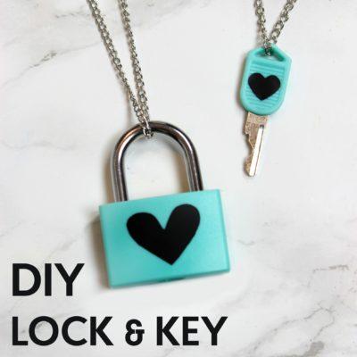 DIY Lock & Key Necklaces thumbnail