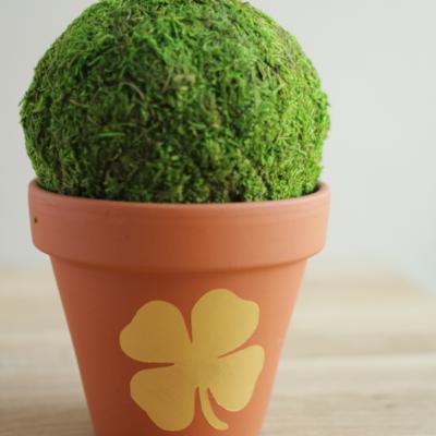 DIY Shamrock Flower Pot thumbnail