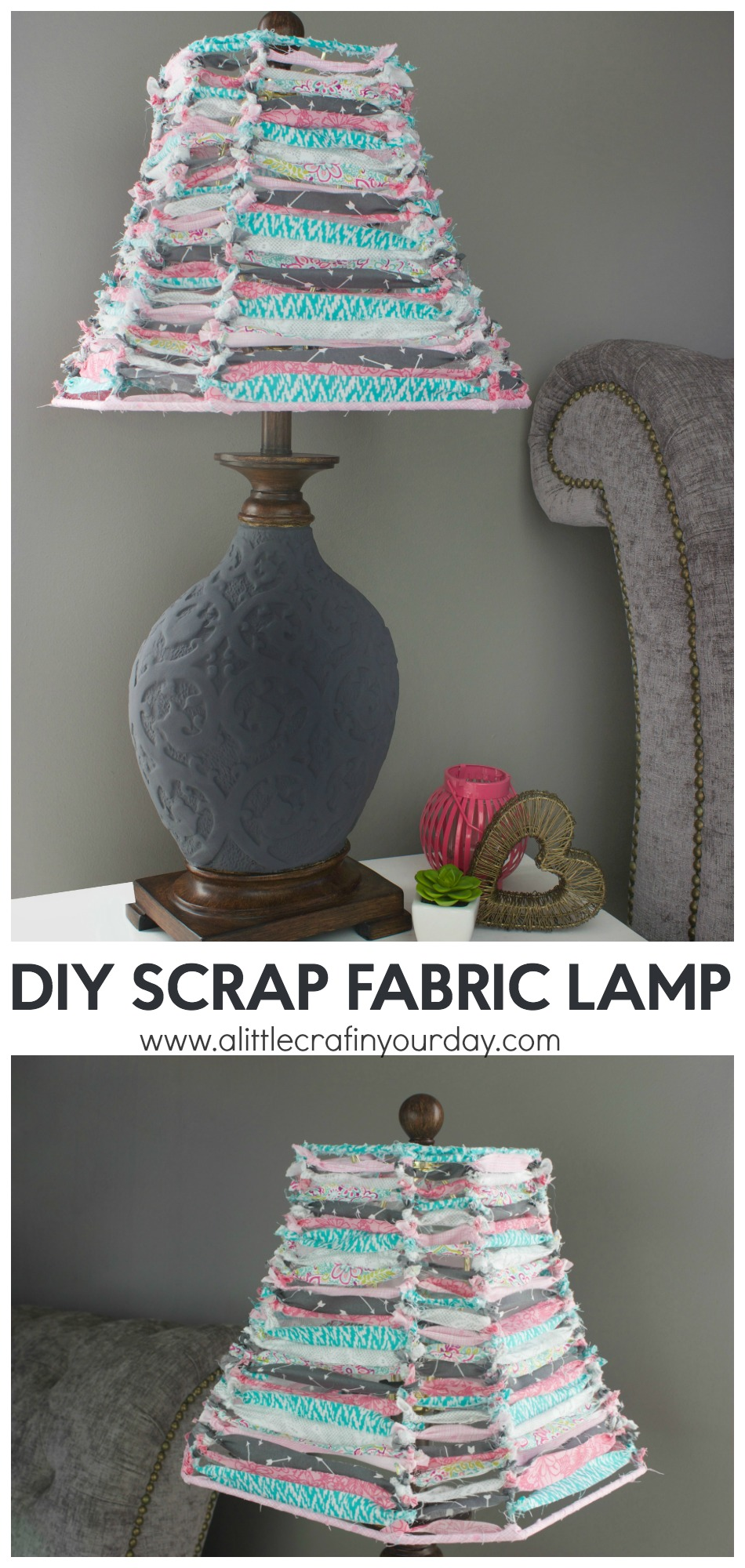 DIY_Scrap_fabric_lamp_1