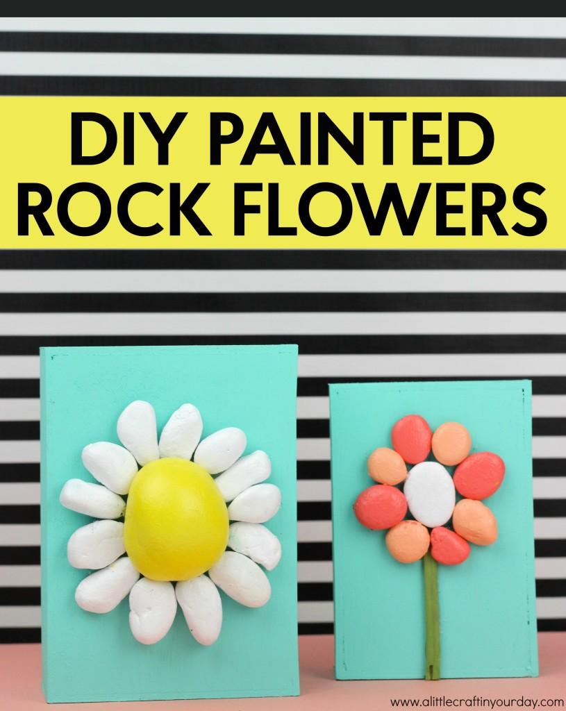 DIY_Painted_Rock_Flowers
